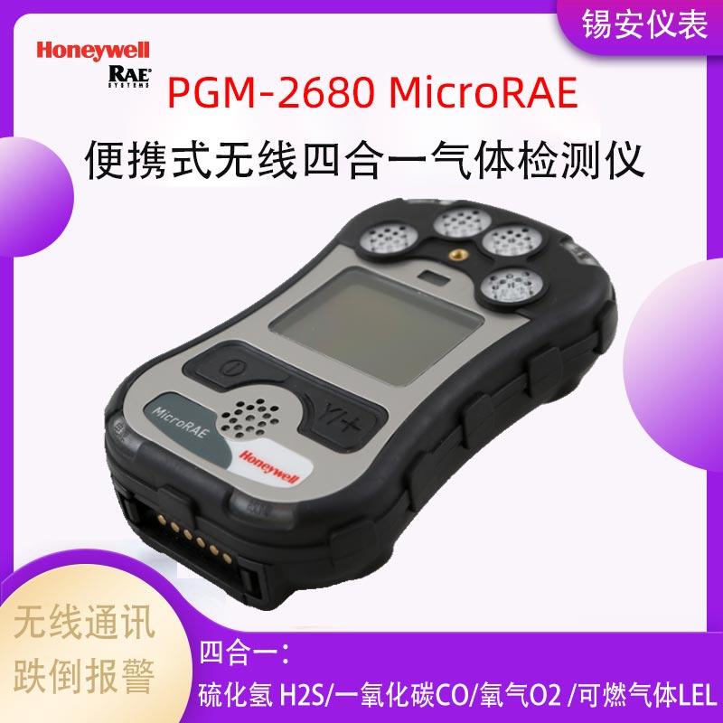 RAE华瑞 华瑞PGM-2680无线四合一气体检测仪