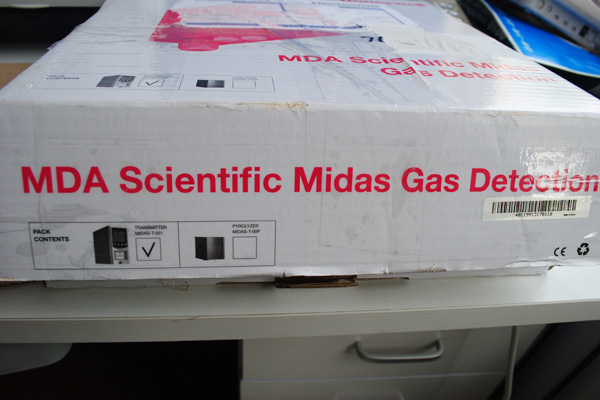 MDA Scientific Midas包装盒